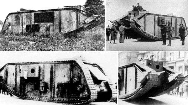 Zırhlı Personel taşıyıcıların atası ve Traktör fabrikaları tarafından üretilmiş 1. Dünya savaşında kullanılan İngiliz Tankı..